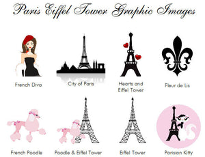 Paris French Eiffel Tower Lip Balm Favors