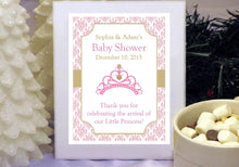 Princess Baby Little Pink Gold Baby Shower Hot Chocolate Cocoa Favors