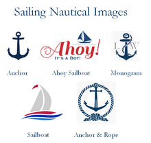 Sailing Nautical Wedding Bridal Table Numbers Cards