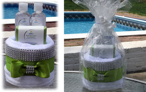 Love Best Mom Mother's Day Elegant Spa Gift Basket