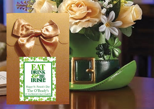 St. Patrick's Day Party Candy Shoppe Favor Boxes