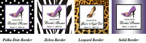 Stiletto High Heel Shoe Party Menu Cards