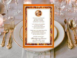 Thanksgiving Dinner Party Invitations Announcements