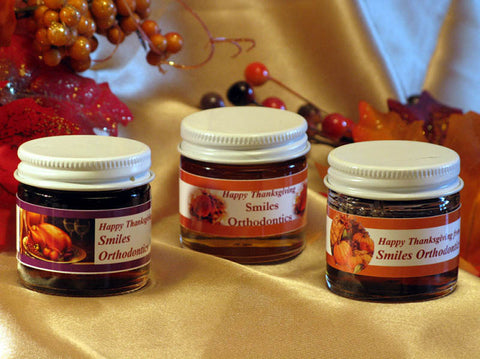 Thanksgiving Party Honey Jars Party Favors