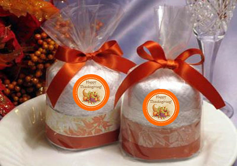 Thanksgiving Party Towel Cake Favors Gifts