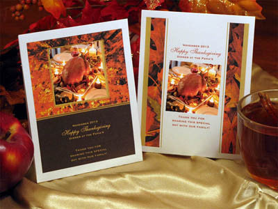 Thanksgiving Party Hot Apple Cider Pouch Packet Favors