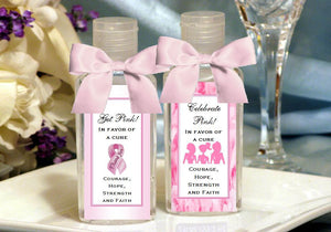Think Celebrate Wear Pink Ribbon Hand Sanitizers