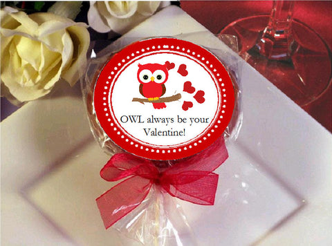 Valentine's Day Party Cookie Pop Favors