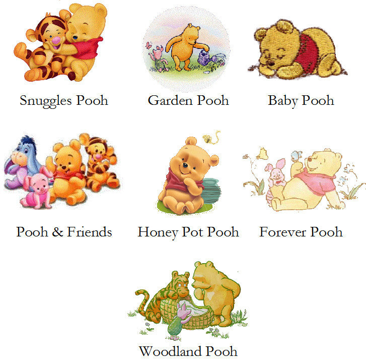 4514a2e0d767 Winnie the Baby Pooh and Friends Baby Shower Thank You Cards – Pavia ...