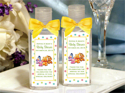 Winnie the Baby Pooh and Friends Hand Sanitizers Favors
