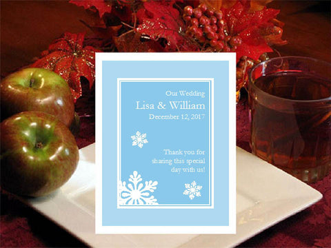 Winter Wedding - Let It Snow Party - Hot Apple Cider Favors