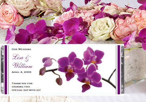 Orchid Tropical Large Candy Wrapper Favors