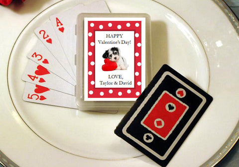 Valentine's Day Party Playing Cards Favors