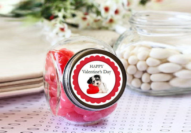 Valentine S Day Party Mini Glass Candy Jars Favors Pavia Party Favors