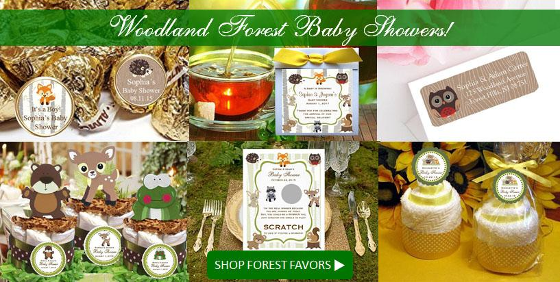 Shop Woodland Forest Baby Shower