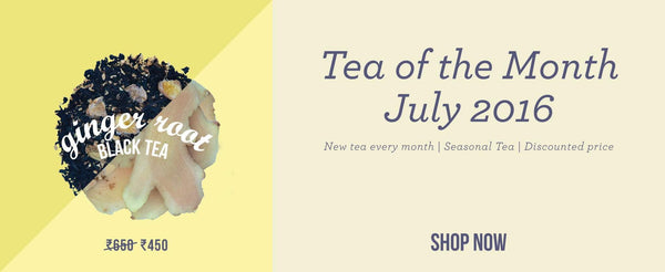 Tea of the Month – Ginger Root Black Tea
