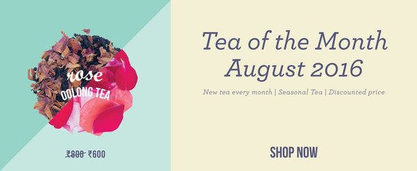 Tea of the Month – Rose Oolong