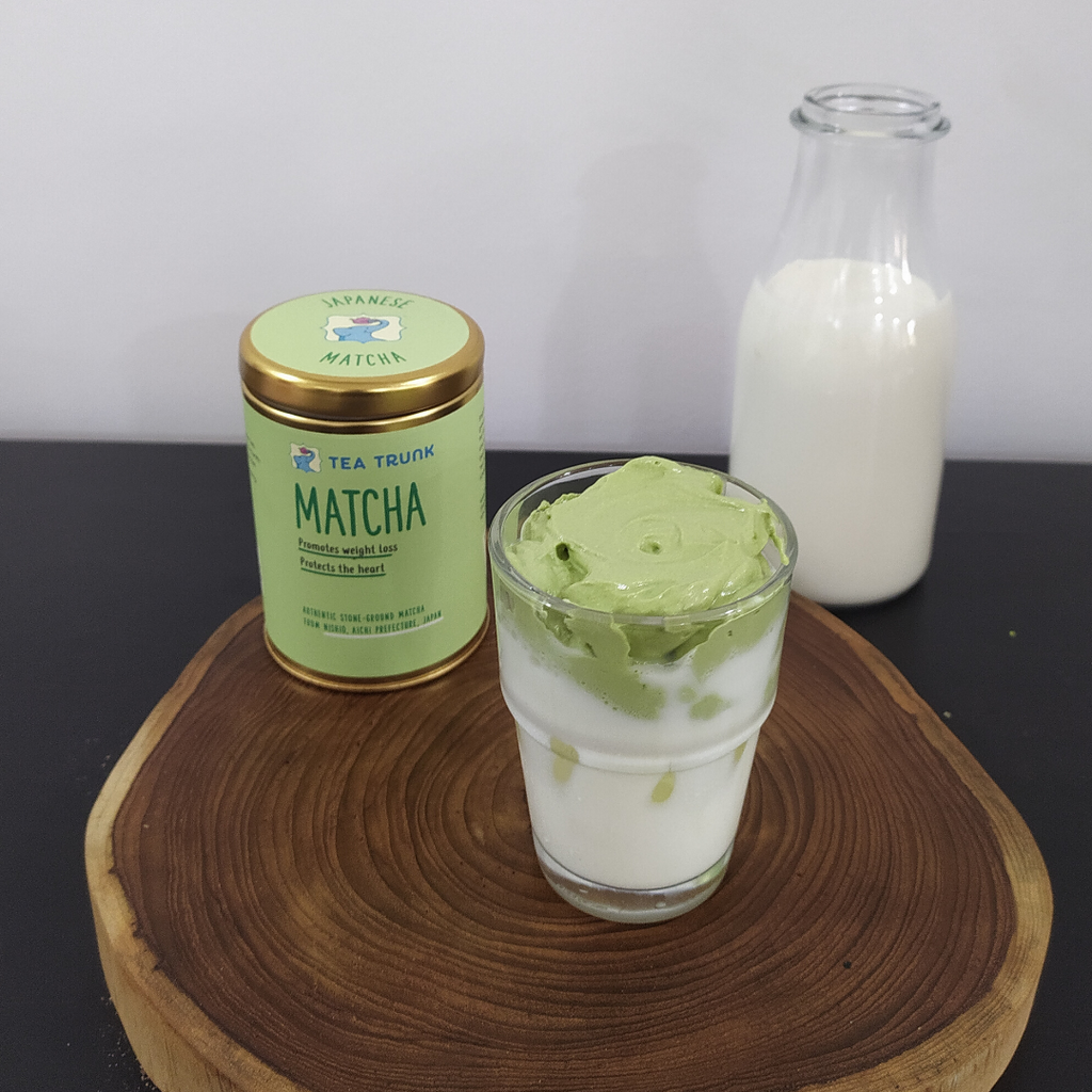 Matcha Dalgona Coffee Recipe