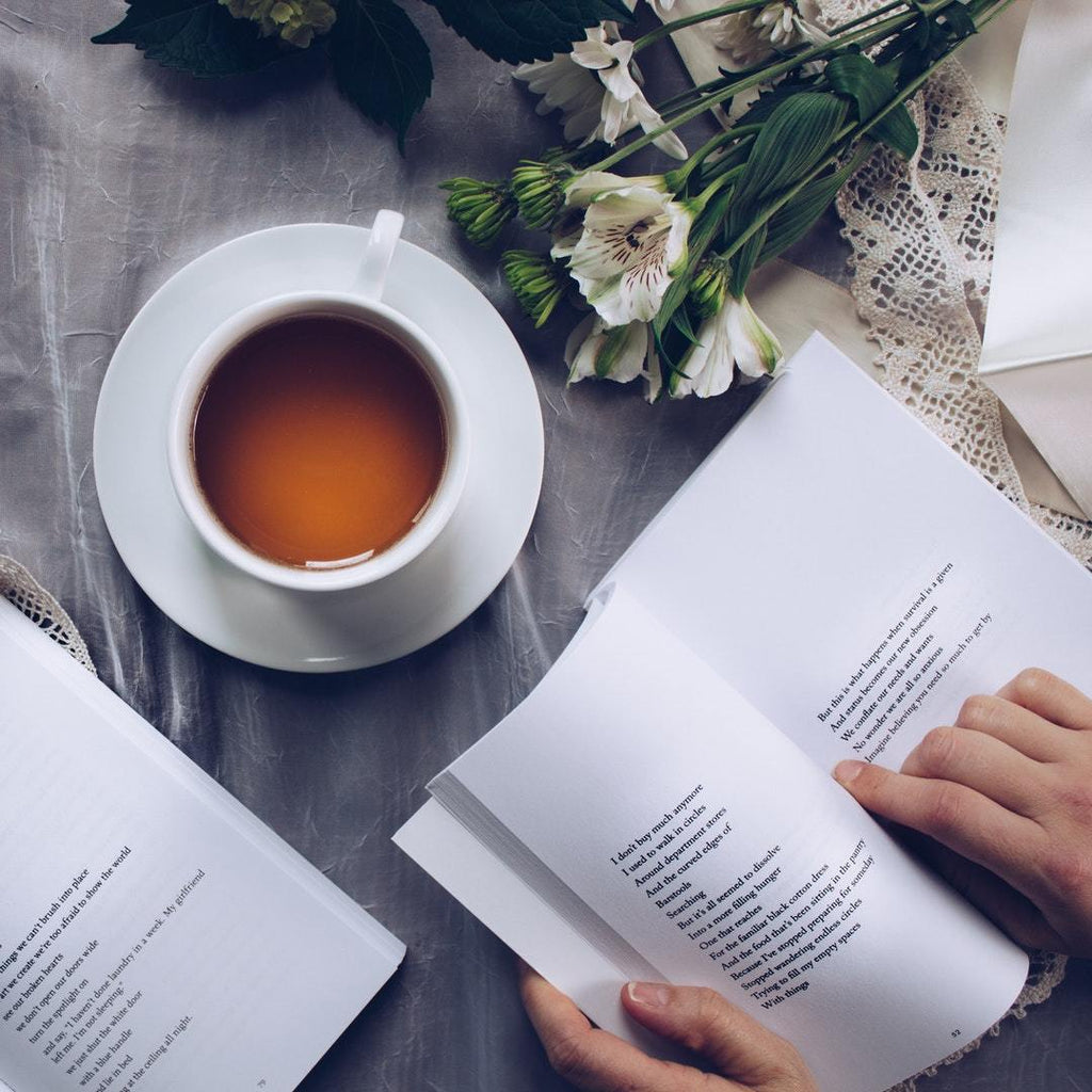 Tea and poetry- a timeless pairing