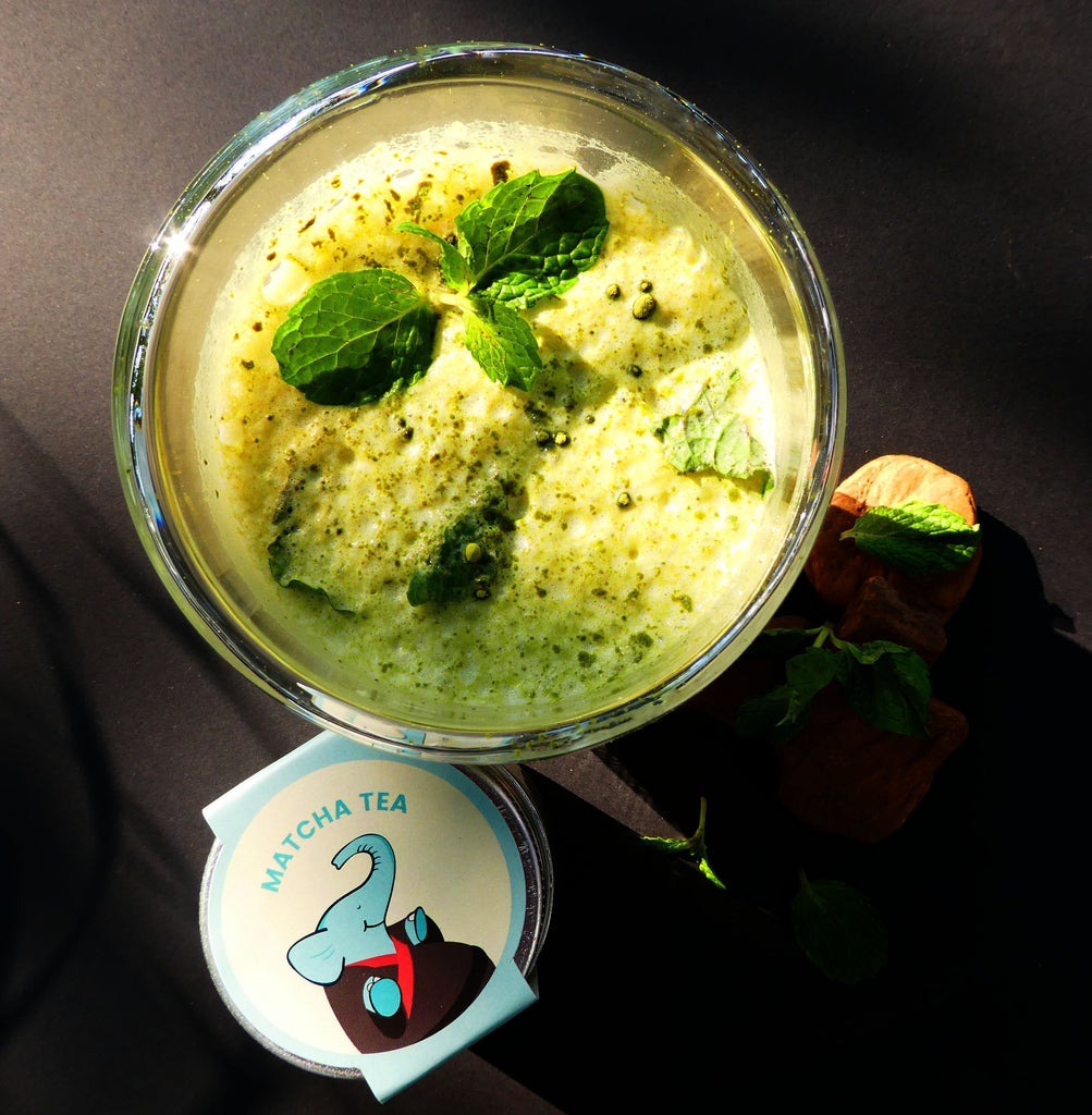 Mint Matcha Smoothie Recipe