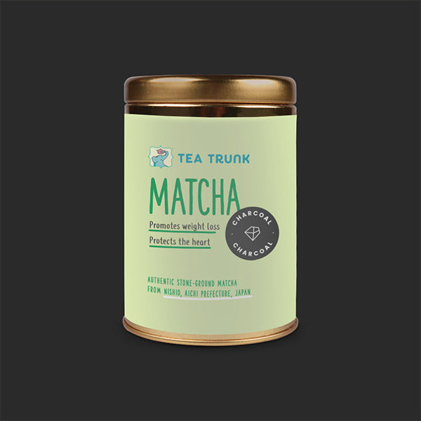 Activated Charcoal Matcha