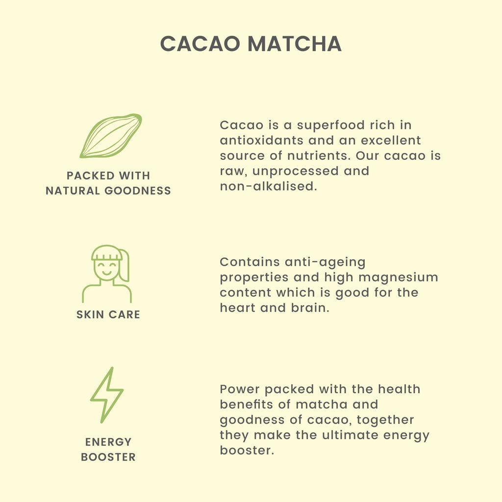 Cacao Matcha Green Tea - Tea Trunk