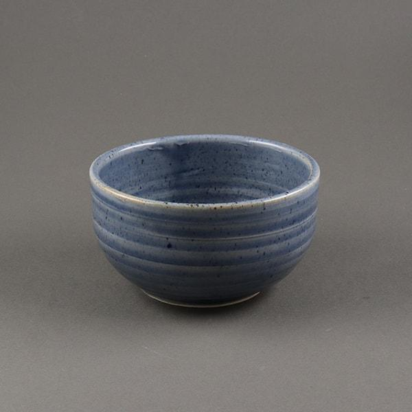 Tea Trunk Matcha Ceramic Bowl -Koniro Blue Koniro Blue