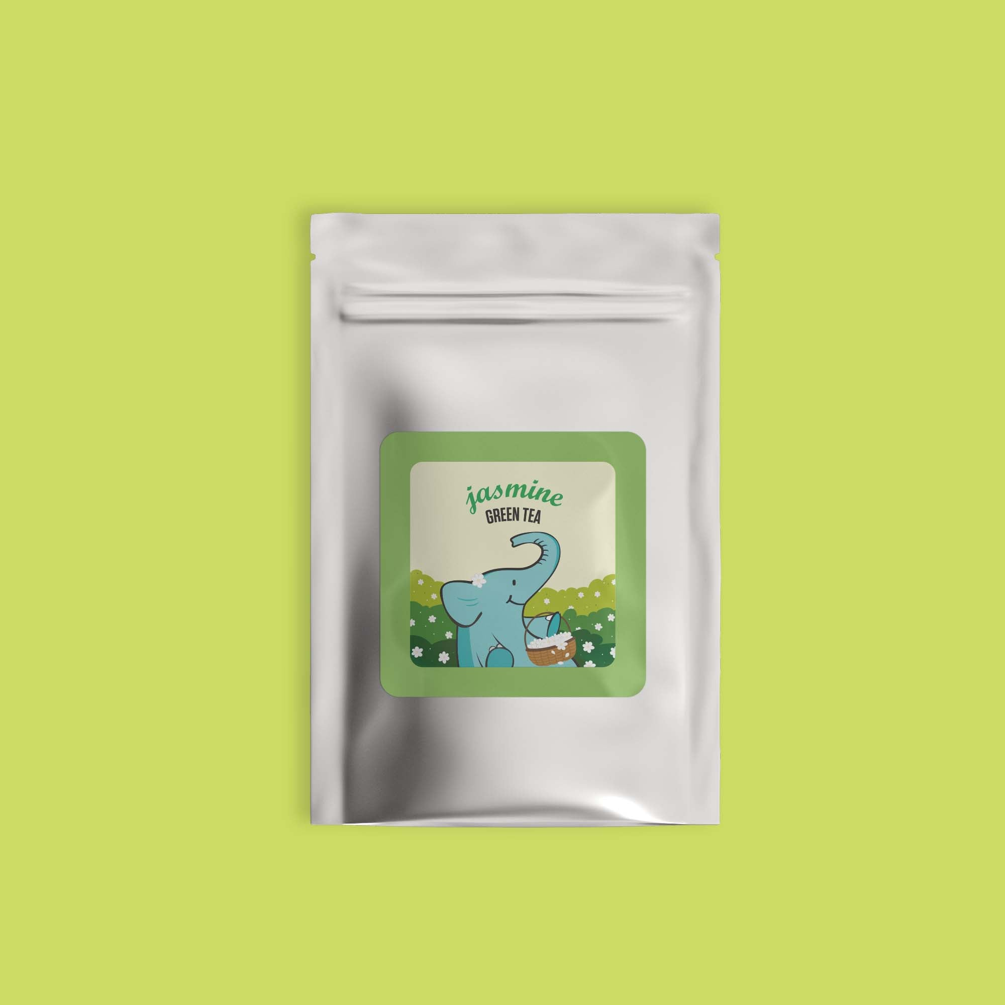 Jasmine Green Tea - Refill Pack - Tea Trunk