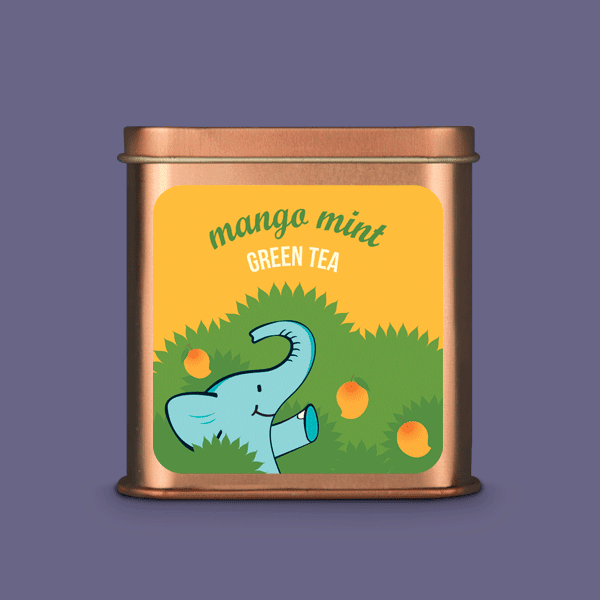 Mango Mint Green tea - Tea Trunk