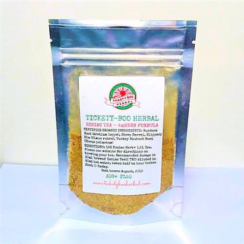 ESSIAC TEA- 4XHERB ... 45G@$10, 180G@$33