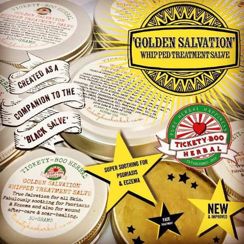 'GOLDEN SALVATION'- HEALING TREATMENT SALVE - STARTING @$10