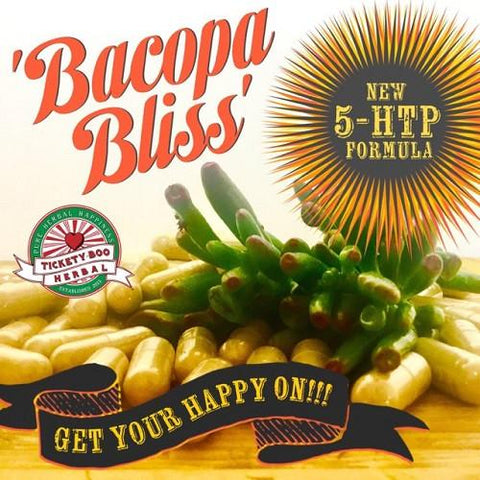 5-HTP CAPSULES - 'BACOPA BLISS'