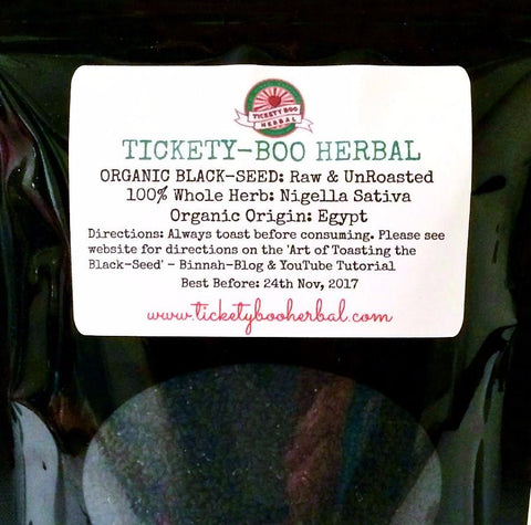 ORGANIC NIGELLA SATIVA - FINEST-QUALITY EGYPTIAN BLACK-SEED ... $21 - 260GRAM