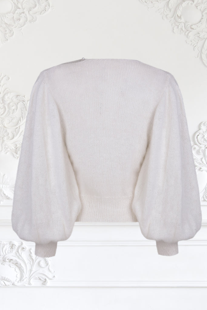 Loose Sleeve Mink Hair Sweater