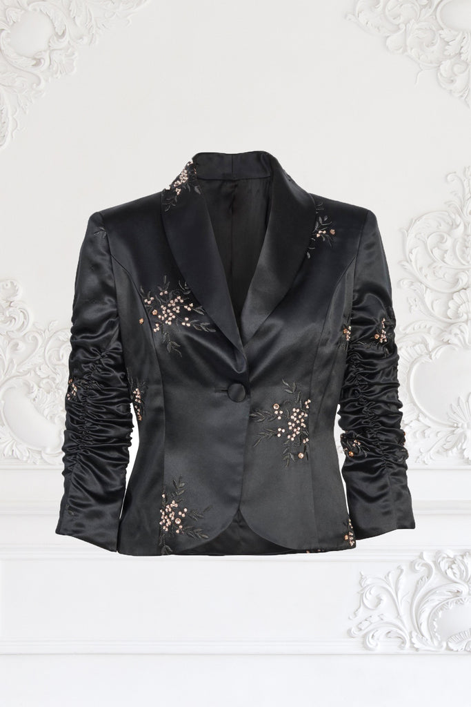 Embroidered Tailored Jacket