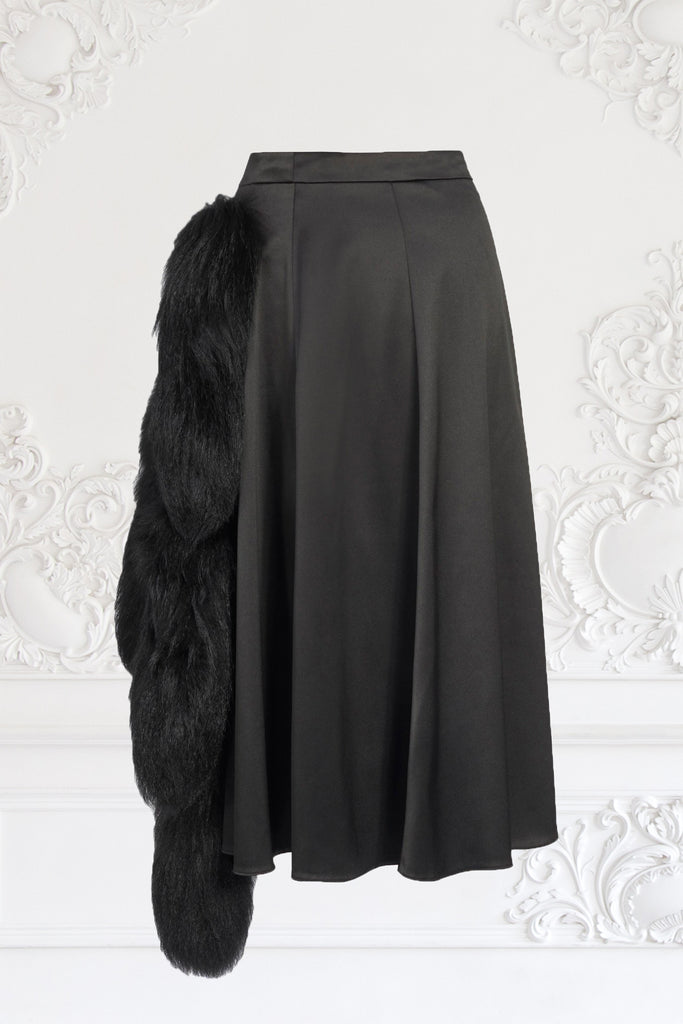 Foxtail Flared Skirt