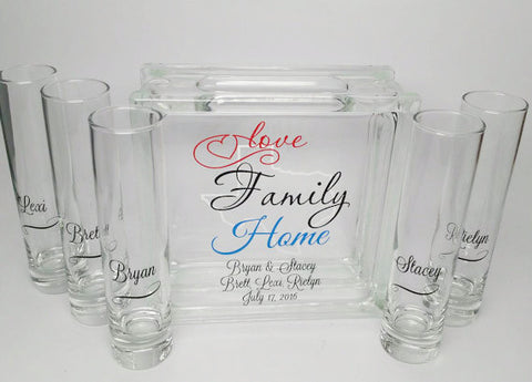 Blended Family Unity Sand Set