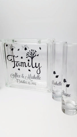 Family Tree Sand Set - Blended Family Unity Sand Set - Wedding Sand  Ceremony Set