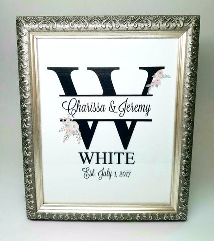 personalized wedding sign sweetheart table sign unique personalized wedding gift engagement announcement photo
