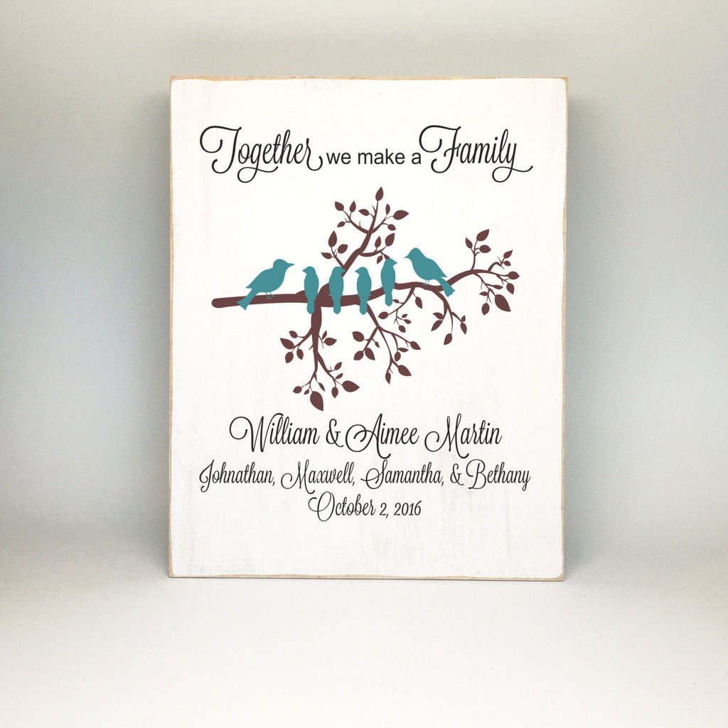 Family Hands Sign Hand Embroidered By EightOhEight 8500