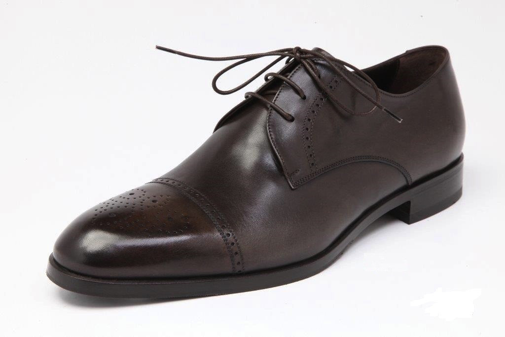 SHOE DERBY BROWN, by Sterling Suits Ltd
