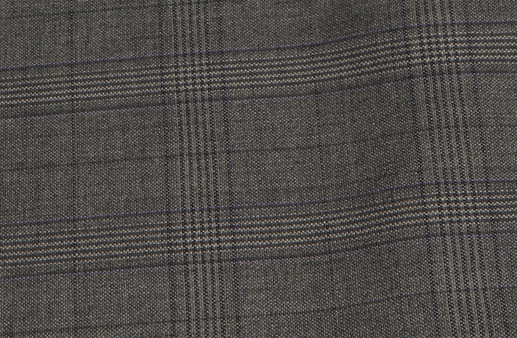 Grey with muti check, by Holland & Sherry