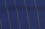 Royal Blue with Gold stripe, by Holland & Sherry
