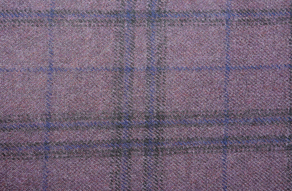 Purple multi check, by Holland & Sherry