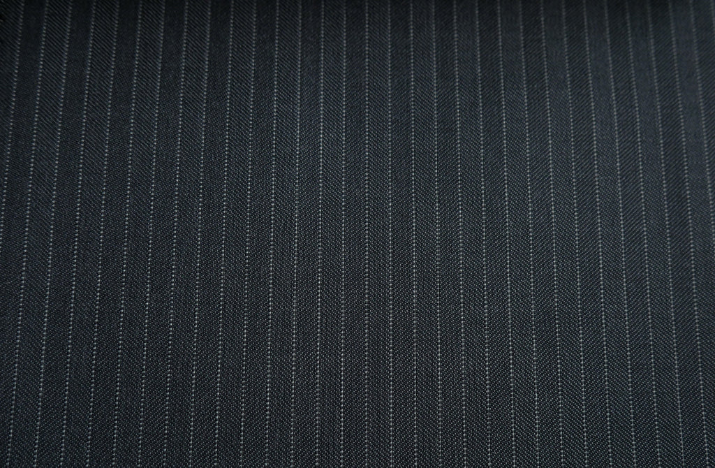 Grey with thin stripe, by Vitale Barberis Canonico.