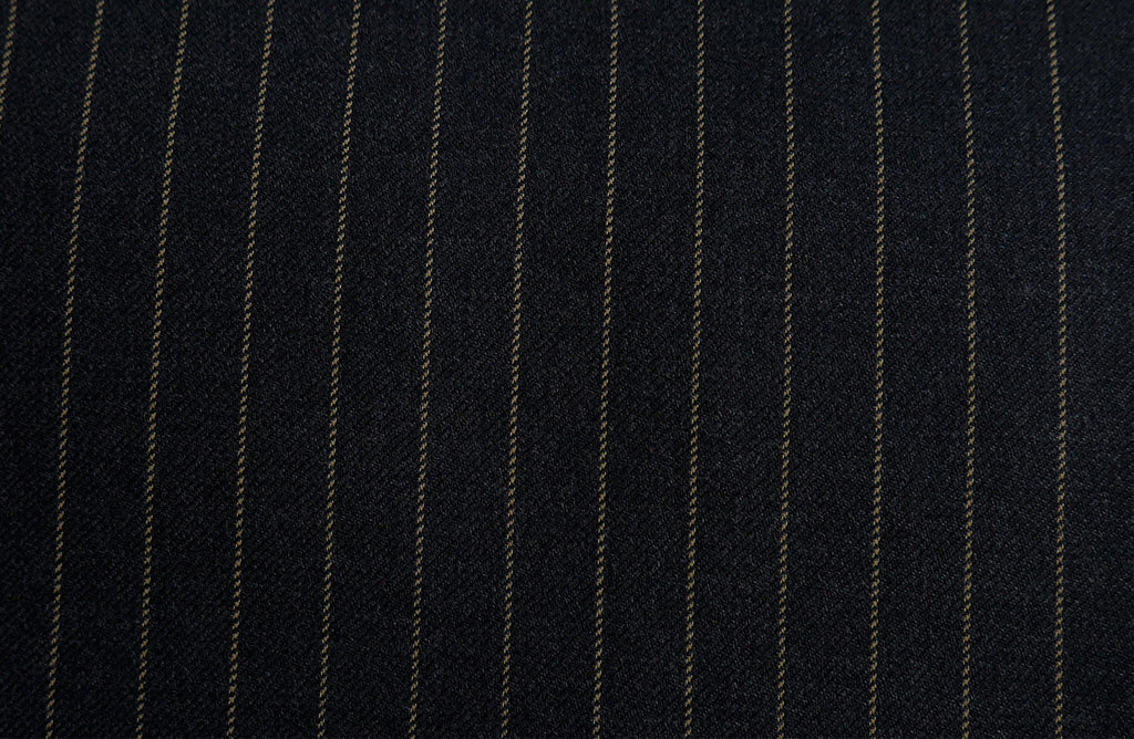 Grey with gold stripe, by Vitale Barberis Canonico.