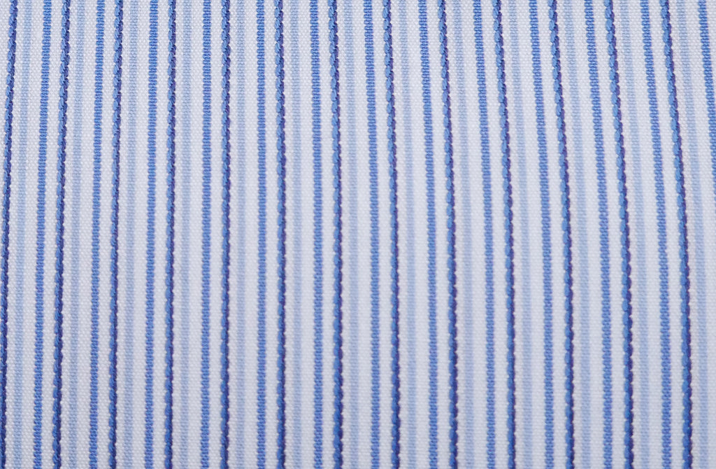 Multi blue stripes, by Dobby