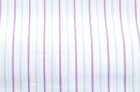 Purple with white and purple check, by Dobby