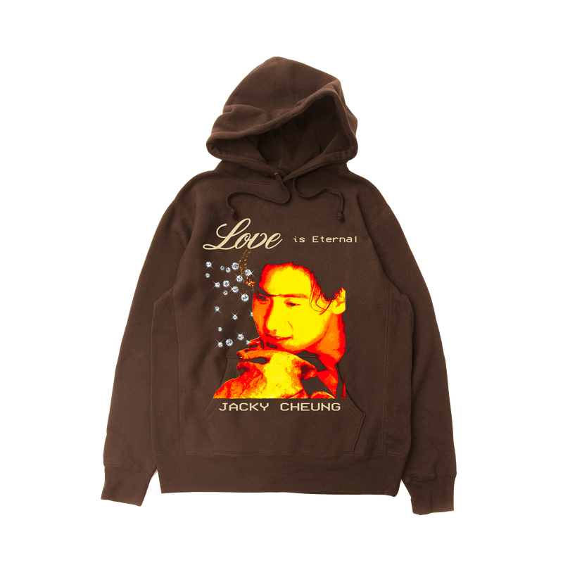 Chocolate Love is Eternal Reverse Weave Hoodie (15 JAN 12AM HKT)