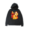 Together Forever Reverse Weave Hoodie - Black